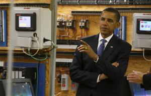 President Obama in college! (AP Photo)