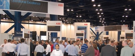 Large attendance at ABB's biggest customer event!