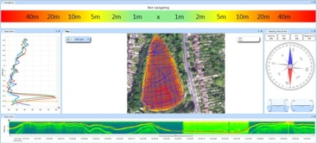 HydroSurveyer Real-time Data Shot!