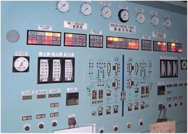 Figure 6: Boiler indicating and alarm panel