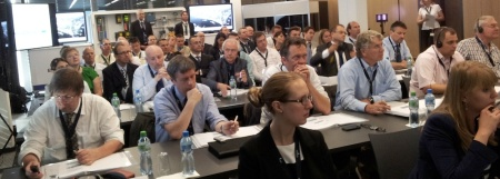 European automation journalists at Emerson Press Conference in Baar (CH)