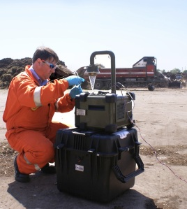 Trials have identified improved methodologies for sampling and measuring bioaerosols at composting facilities. However, bioaerosols are sampled in a wide variety of industries where airborne biological particles (such as bacteria, pollen, endotoxins, viruses and fungal spores) represent a potential hazard.