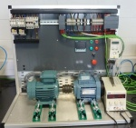 Siemens S7 1200 and Siemens energy monitoring meters.