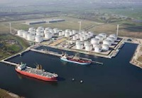 The new Vopak tank terminal at Amsterdam Westpoort