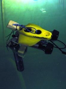 ROV with EXO probe