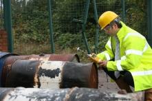 Toxic gas detection